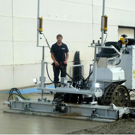 TS100 – Automated Levelling Machine