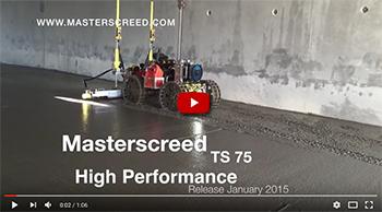 Masterscreed TS75