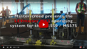 Masterscreed LEVmaster mk3 advance operating system