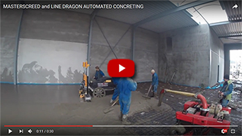 Masterscreed and line dragon automated concretting