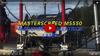 Masterscreed MS550 cutting edge technology