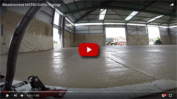 Masterscreed MS550 gopro footage