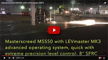 Masterscreed MS550 LEVmaster mk3 SFRC