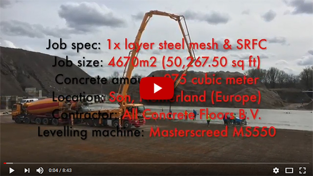Masterscreed - automated high performance concrete machines